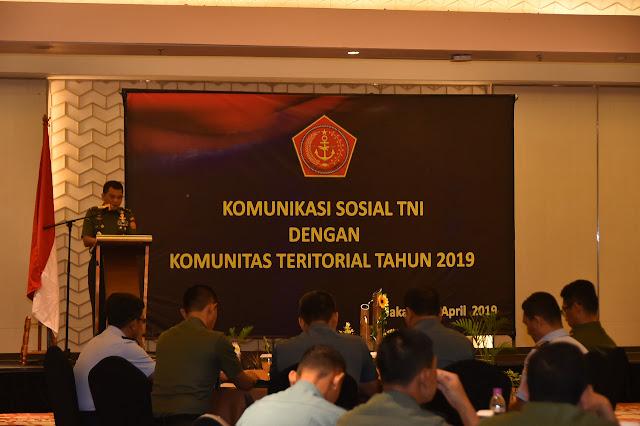 Aster Panglima TNI: Pemberdayaan Wilayah Pertahanan Wujudkan Keutuhan NKRI