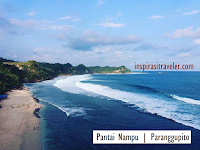 Tiga Pantai Elok ini Terletak di Paranggupito Wonogiri