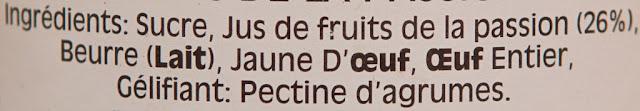 Wilkins & Sons Passion Fruit Curd (312g) par Tiptree - Tiptree - Fruits de la passion - Dessert - Food - Fruit spread - Exotique - Exotic - Fruit curd - Crème au fruit de la passion - Angleterre - England