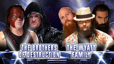 The Wyatt Family Brothers Undertaker Kane 25 years Bray Luke Harper Erick