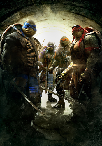 Teenage Mutant Ninja Turtles 2014 Dual Audio