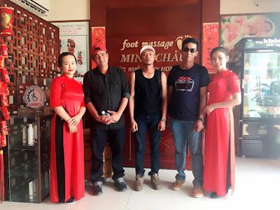Minh Châu Spa do doanh nhân Phan Đức Linh làm tổng giám đốc