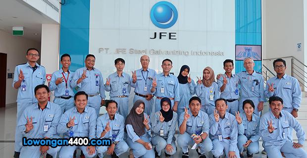 Lowongan Kerja Terbaru PT JFE Steel Galvanizing Indonesia