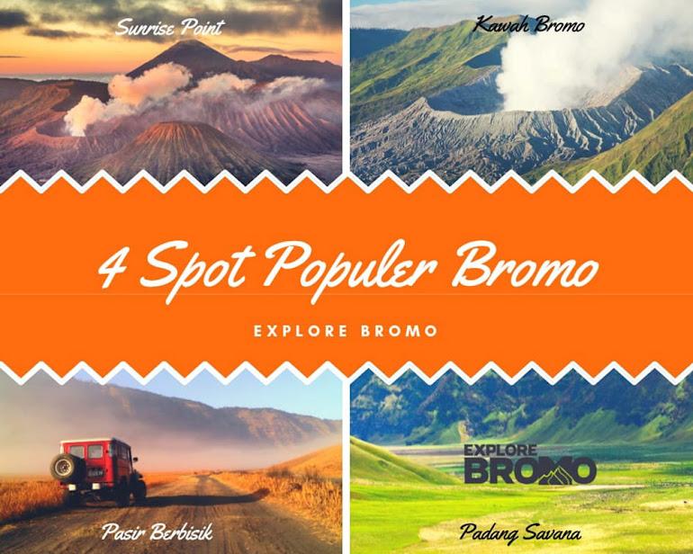 4 spot wisata populer untuk sewa jeep bromo