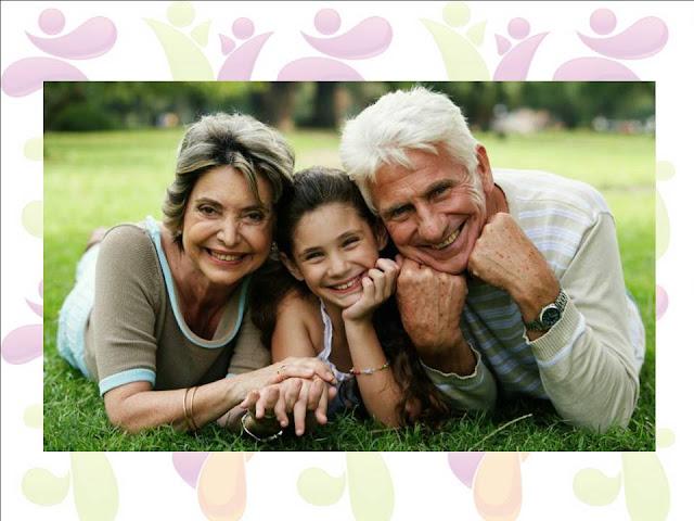 familia con abuelos:Tipos de Familia