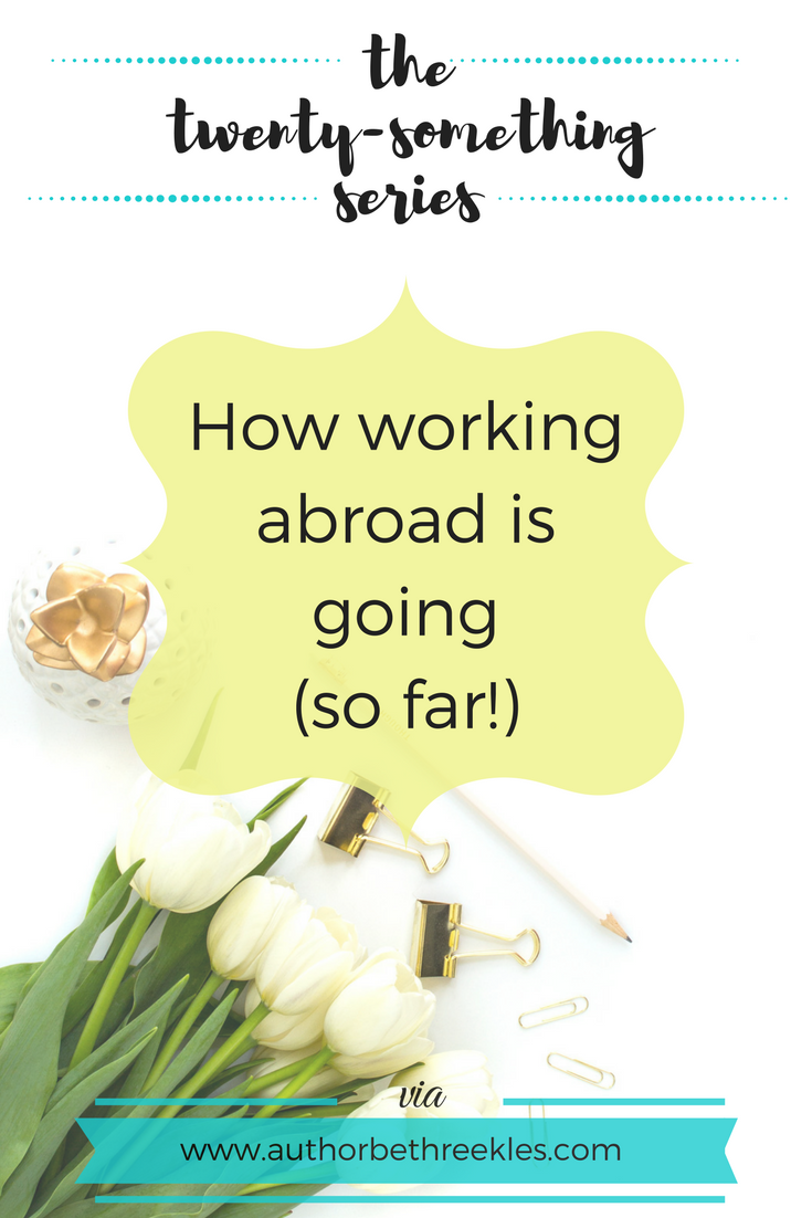 I've been abroad for work a little recently, and there are a few things I wouldn't have been without! I also share a little update on how it's gone so far in this post.