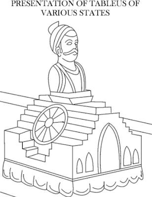Gantantra Diwas Drawings