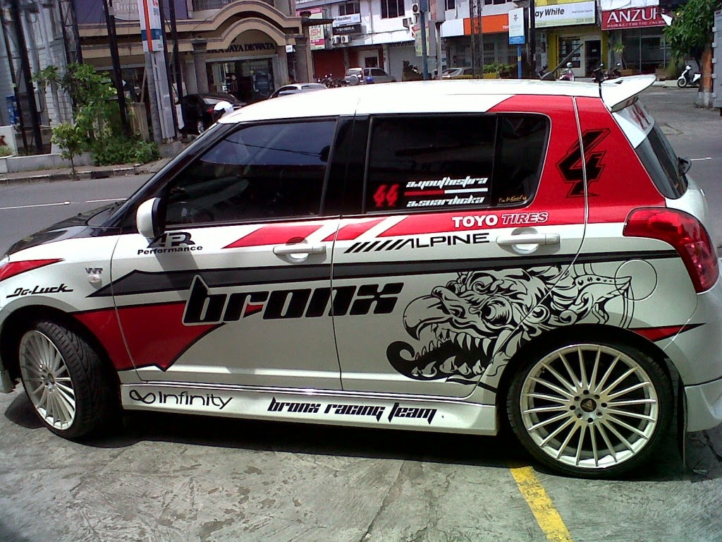gambar modifikasi suzuki swift