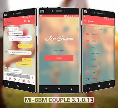 mi-bbm couple apk mod