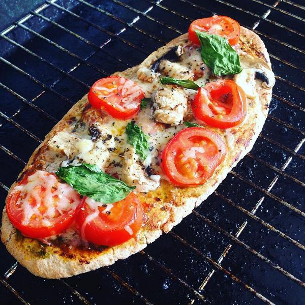 veggie, pizza, pitta, recipe