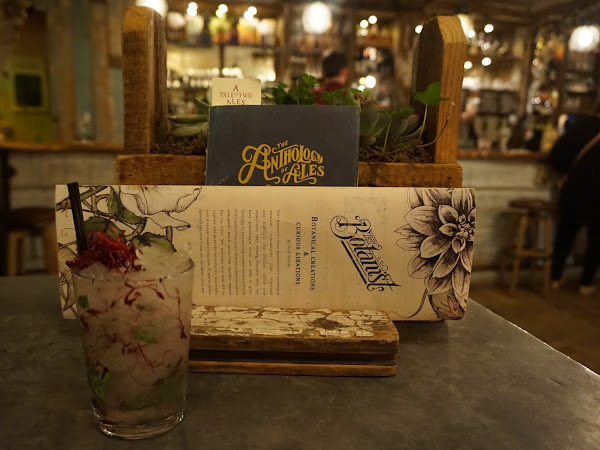 Charity cocktails at The Botanist - Leeds
