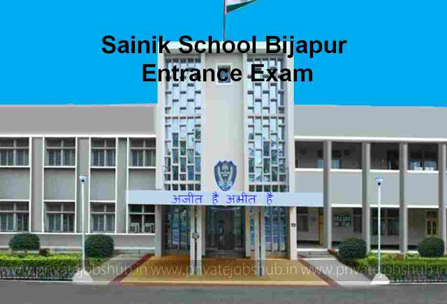Sainik School Bijapur Entrance Exam