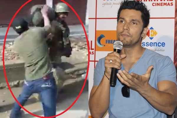 Very Angry, सैनिक पर हाथ उठाने वाले जिहादियों को वहीँ पर आजाद कर देना चाहिए था: रणदीप हूडा