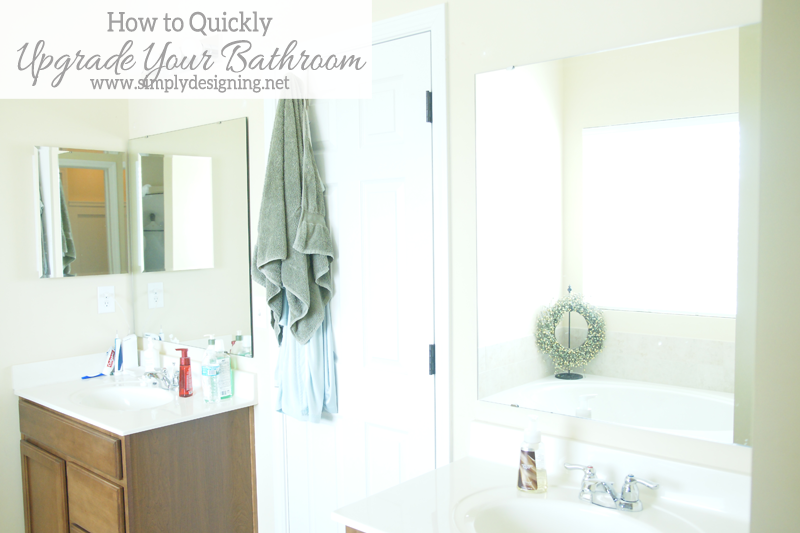 How To Install A Bathroom Mirror Frame The Video