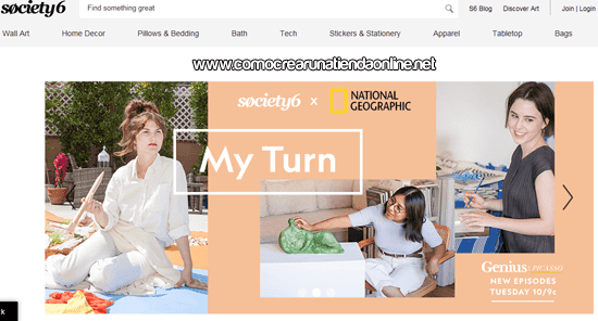Society6 Tienda Online