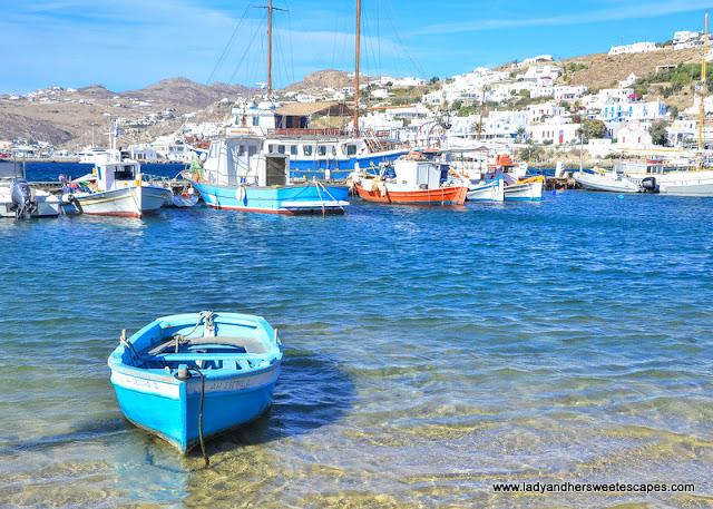 sea near Mykonos town