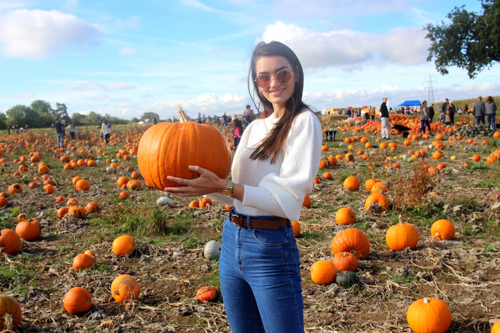 peexo lifestyle blogger pumpkin patch
