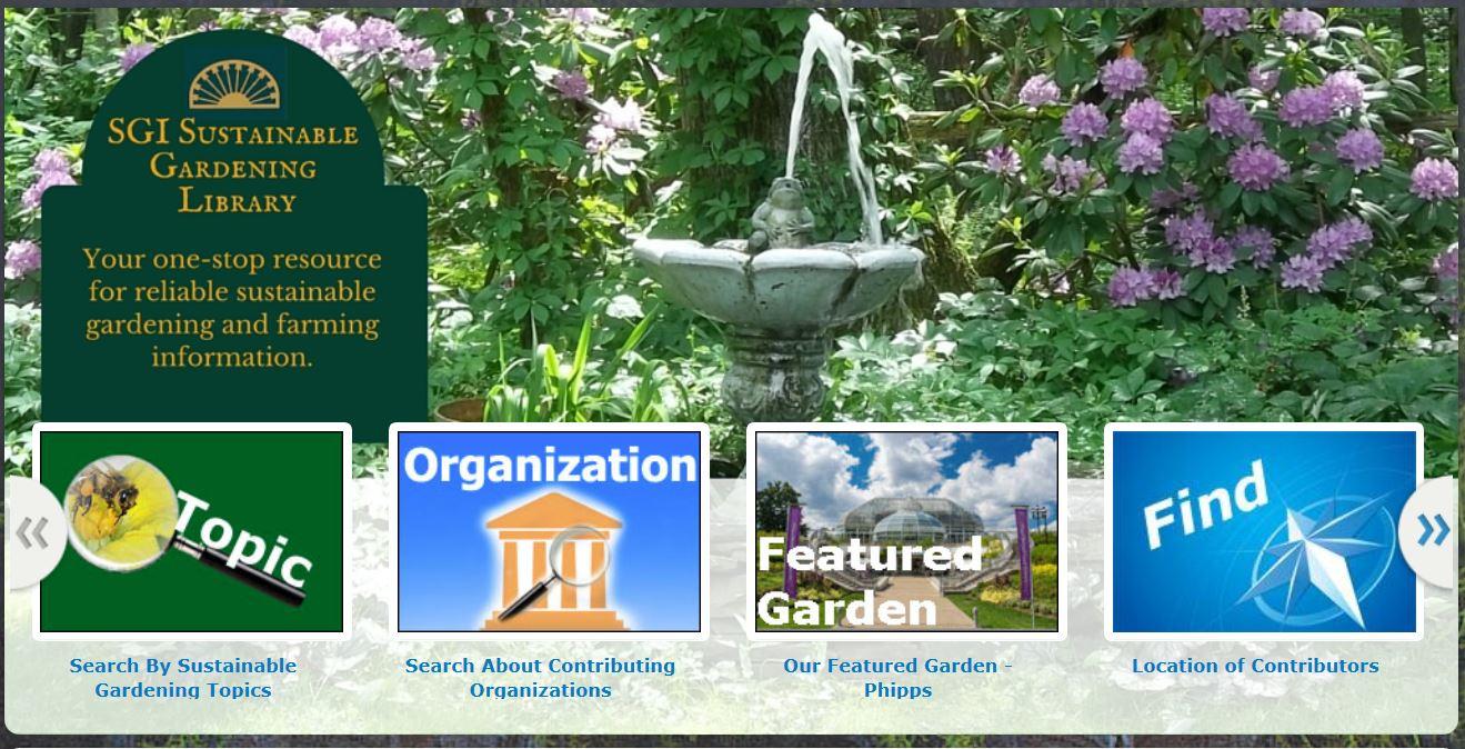 Sustainable Gardening Institute