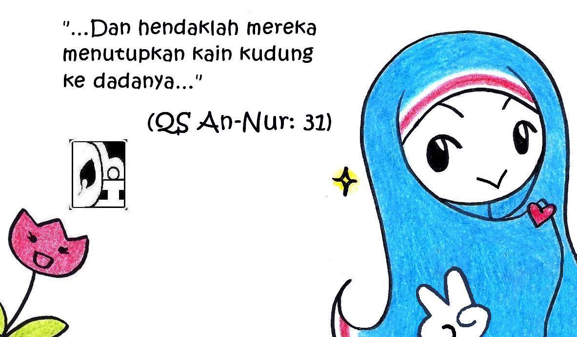 Kartun Muslimah Komik
