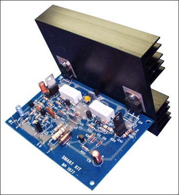 100W with PCB Power Amplifier Circuit - Electronic Circuit