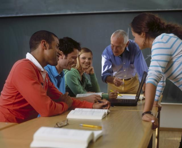 management Adult classroom