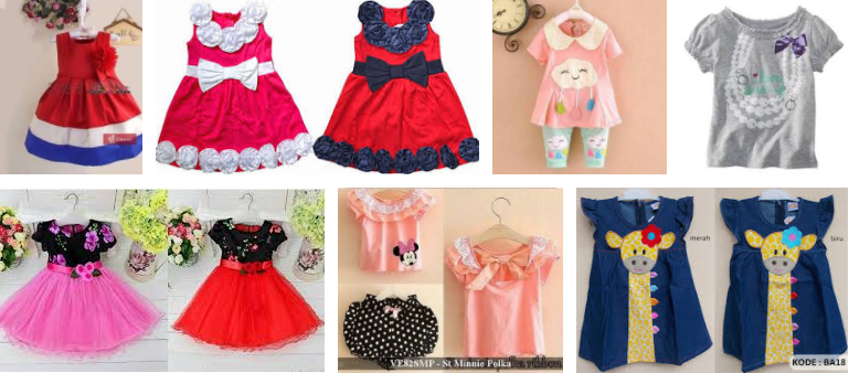 Tips memilih Baju Anak Perempuan Lucu