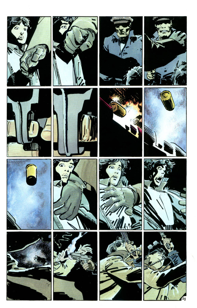 The 16 Panel Grid:Used in The Dark Knight ReturnsBy Frank Miller