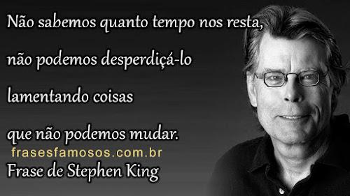 Frase de Stephen King