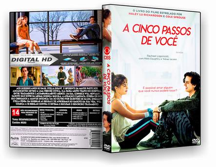 CAPA DVD – A Cinco Passos De Você TS CINEMA – ISO