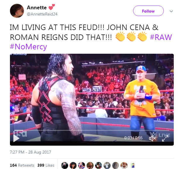 John Cena Vs Roman Reigns No Mercy