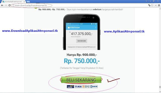 Link untuk mendownload Aplikasiatmponsel.tk hasilkan uang 100juta secara bisnis online menjanjikan Tahun ini