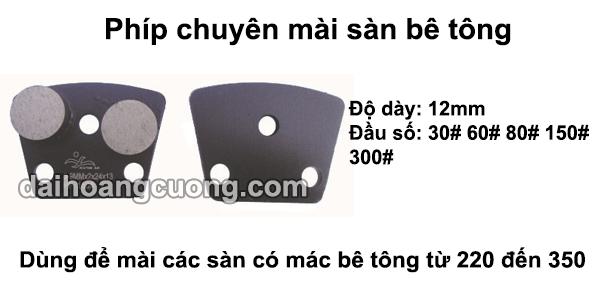 Đĩa mài sàn bê tông mác từ 220 đến 350