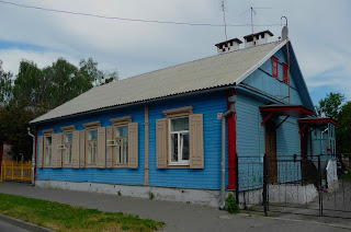 Пінськ. Дерев'яна забудова