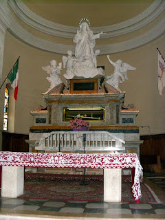 The tomb of Sant'Agnes in the church of  Sant'Agnese in Montepulciano