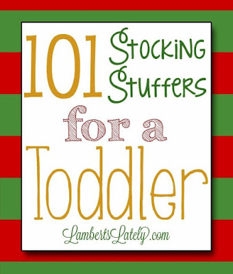 101 stocking stuffer ideas for a toddler - Stocking Stuffer Idea