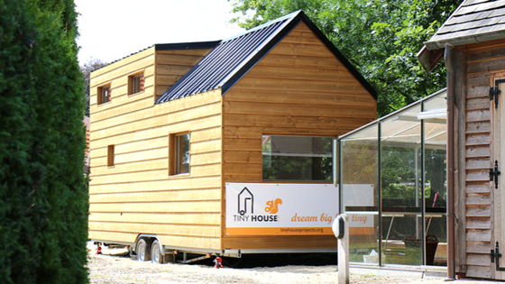 Tiny House Town Refugee Home From Tiny House Belgium