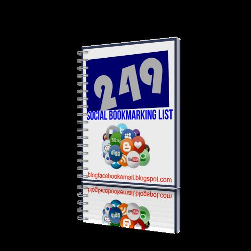249 Dofollow Social Bookmarking