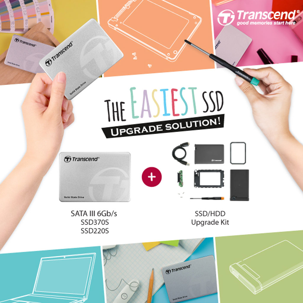 Transcend SSD Plus Upgrade Kit