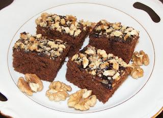 Prăjitura negresă cu nuci retete culinare,