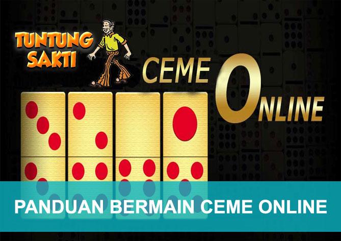 Panduan bermain Ceme Online