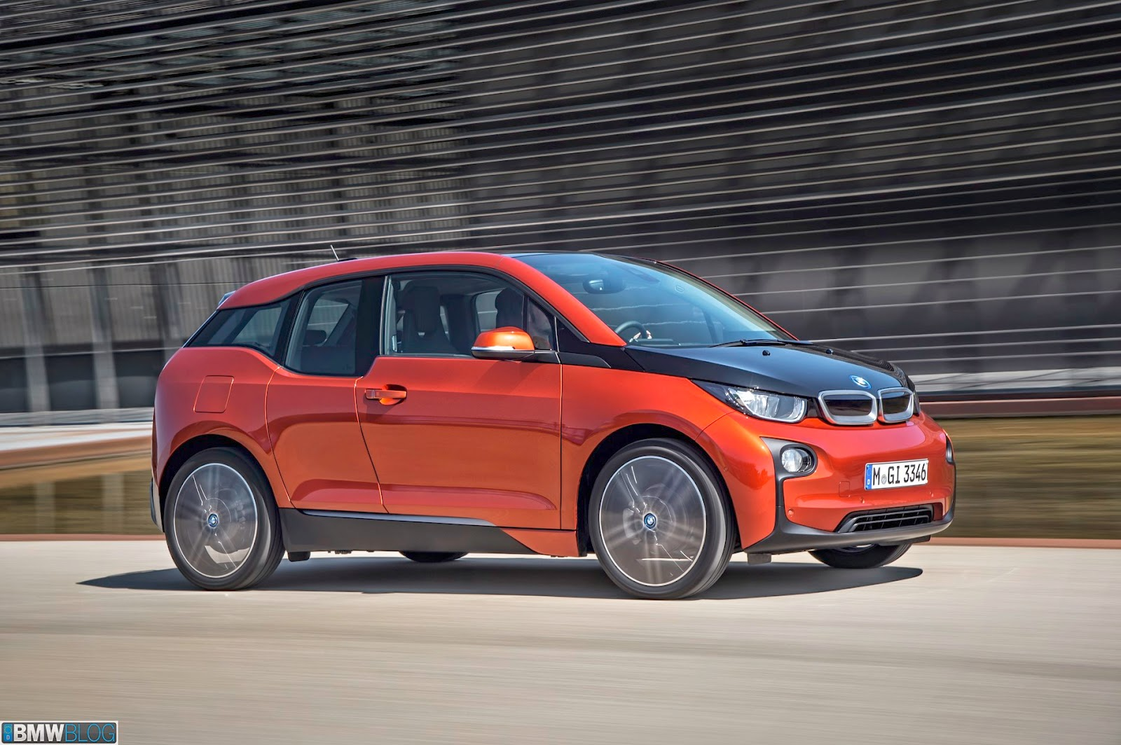 The Electric Bmw I3 Breaking Bmw I3 Rex Gets 2 500 Cvrp Rebate In