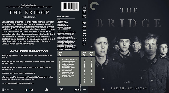 The Bridge (Die Brücke - 1959) Bluray Cover