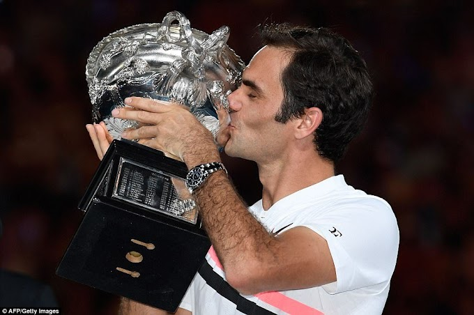 Roger Federer wins Australian Open final, becomes the first man to win 20 Grand Slam title (Photos)