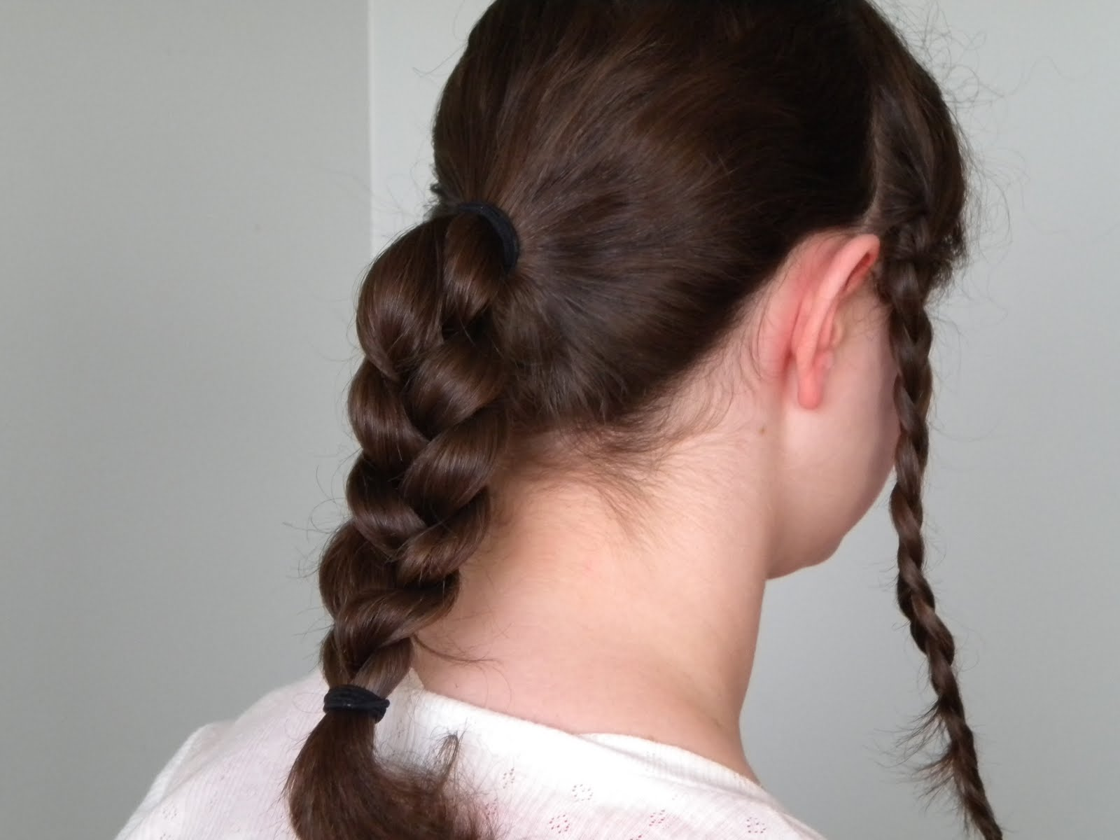 Victorian Hair Styles: Hair Styles: Braided Victorian Hairstyle