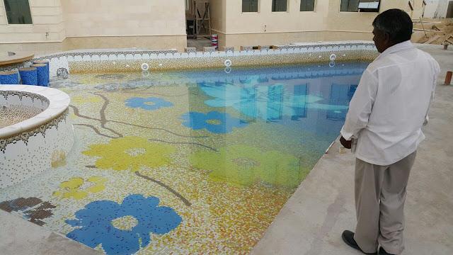 swimming pool design tiles