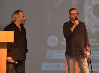 Eugenio Arnau y J, presentadores de la X Trobada