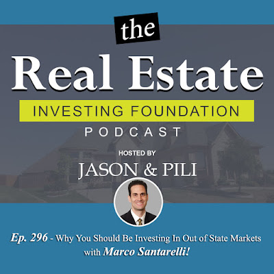 Ep. 296 Why You Should Be Investing In Out of State Markets with Marco Santarelli