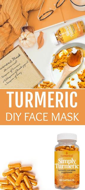 Turmeric DIY Face Mask By Barbies Beauty Bits