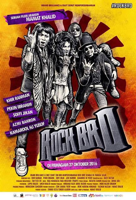 Filem Melayu Rock Bro | 27 October 2016 Onwards