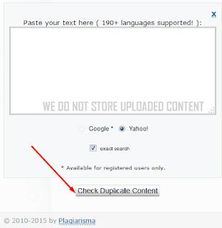 Plagiarisma.net free tools